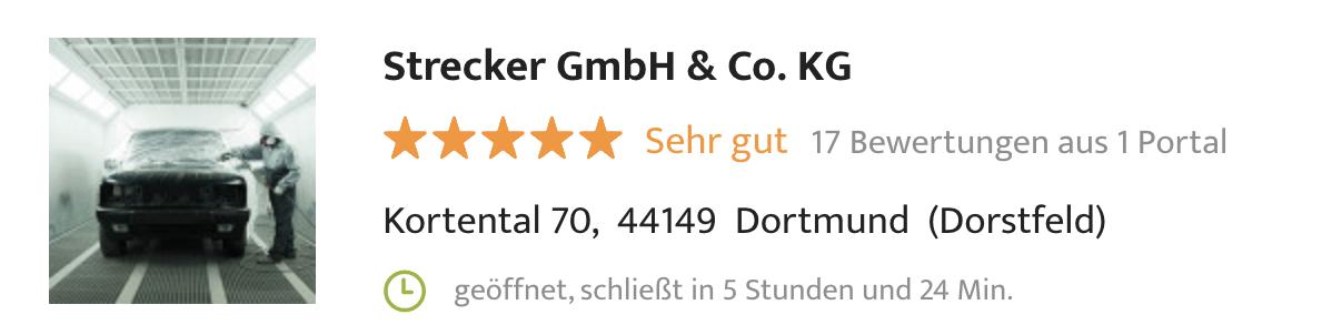Strecker Dortmund - wer kennt den besten